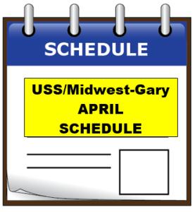uss APRIL schedule