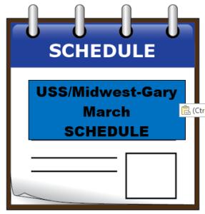 uss MAR schedule