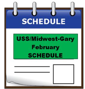 uss feb schedule