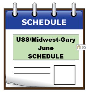 uss june schedule